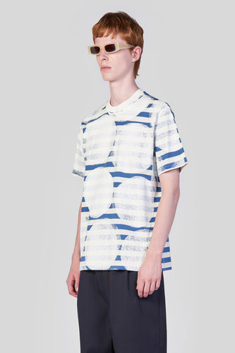 STAMPS STRIPED T-SHIRT