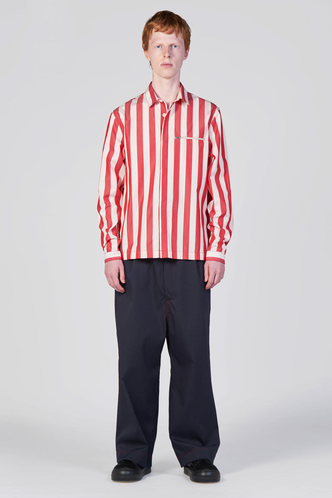 RED STRIPES REGULAR SHIRT