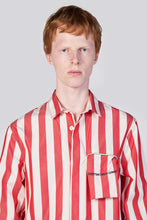 Load image into Gallery viewer, RED STRIPES REGULAR SHIRT