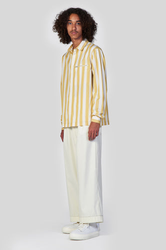 YELLOW STRIPES REGULAR SHIRT