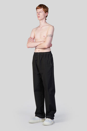 BLACK ELASTIC PANTS