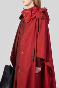 BORDEAUX LONG CAPE