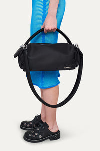 BLACK NYLON LABAULETTO BAG