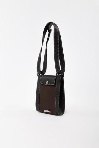 BROWN BORSELLO BAG
