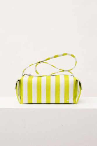 STRIPED BAULETTO BAG