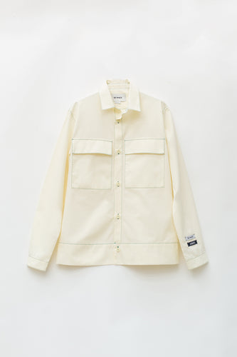 OFF WHITE BOXY SHIRT