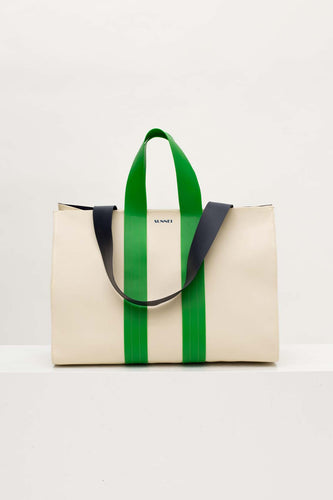 CREAM PARALLELEPIPEDO BAG