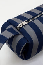 Load image into Gallery viewer, BLUE & DARK GREY BAULETTO BAG