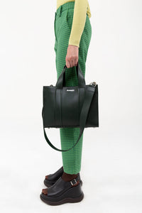 DARK GREEN MINI BAG