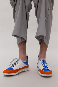 BLUE & ORANGE WATER SHOES