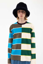 Load image into Gallery viewer, MULTICOLOR KNIT T-SHIRT