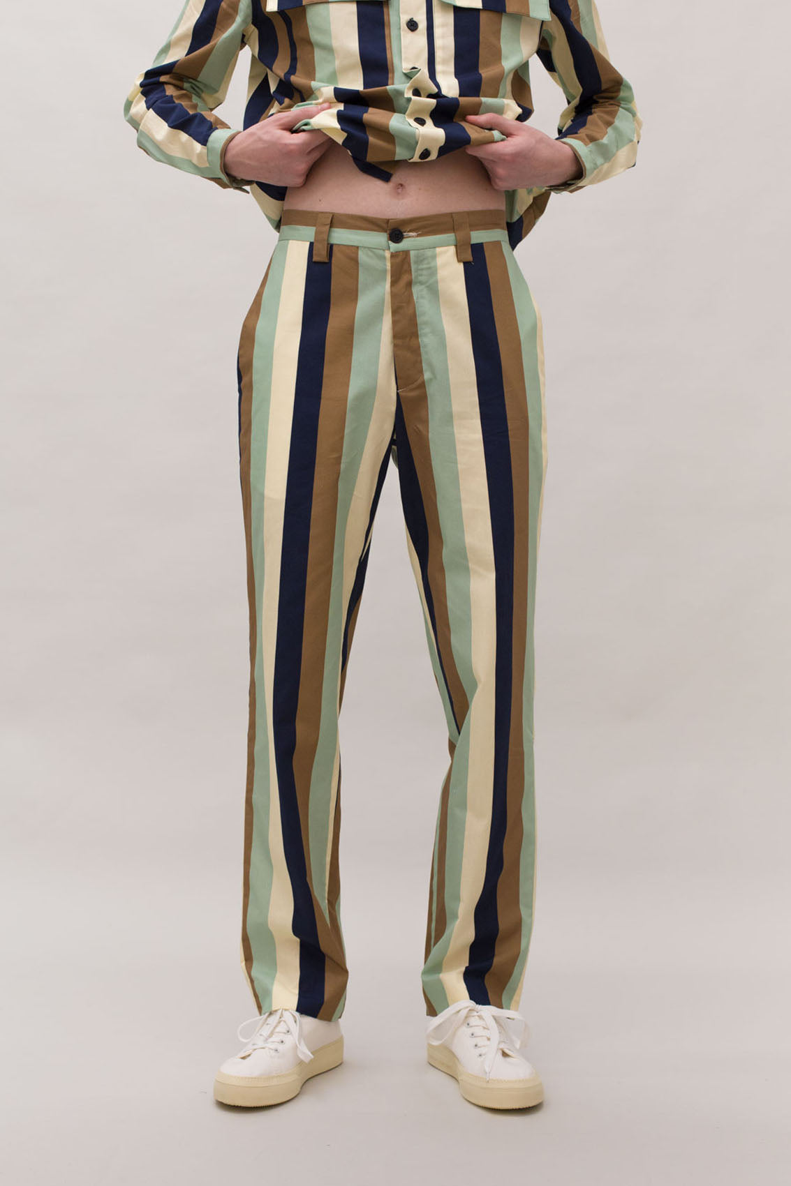MULTICOLOR STRAIGHT PANTS