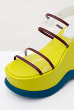 Load image into Gallery viewer, YELLOW & GREEN SANDALS
