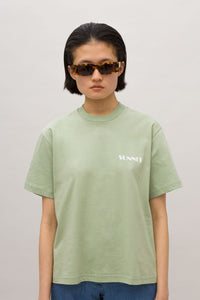 MINI LOGO MINT T-SHIRT