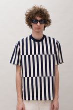 Load image into Gallery viewer, STRIPED BAND T-SHIRT