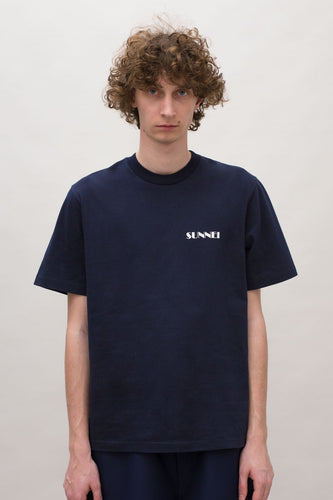 MINI LOGO BLUE T-SHIRT