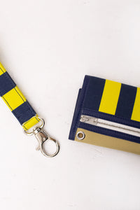 BLUE & YELLOW WALLET