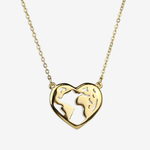 Traveling Heart Necklace