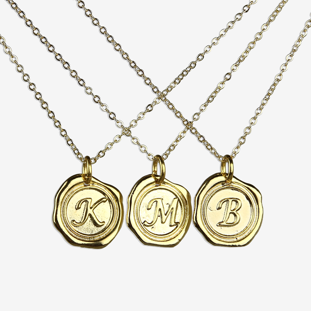 Letter Seal Necklace