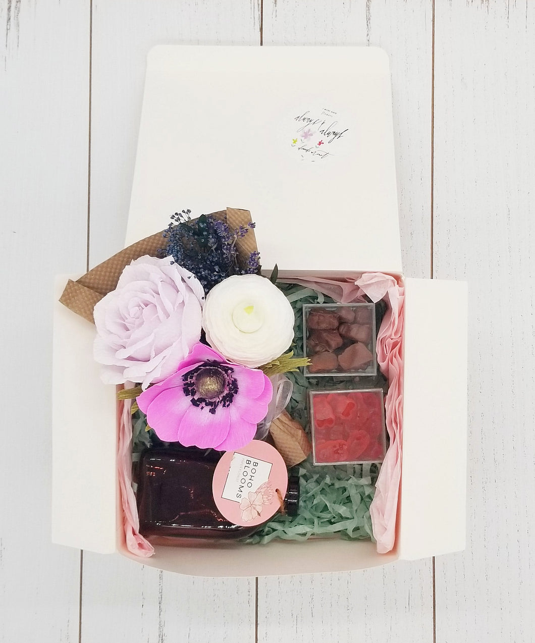 Flower Bouquet Comfort Gift Box