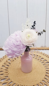 Lavender & Blush Mini Bud Arrangement