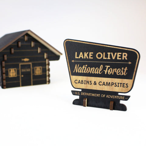National Forest Sign - Personalized