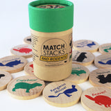 Match Stacks - Rad Rodents!
