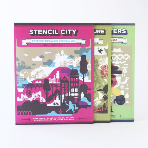 Drawing Stencils - BUNDLE PACK