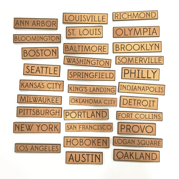 My City - Custom Magnet