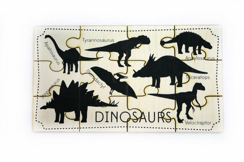 Jigsaw Puzzle - Dinosaurs