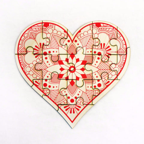 Jigsaw Puzzle - Heart