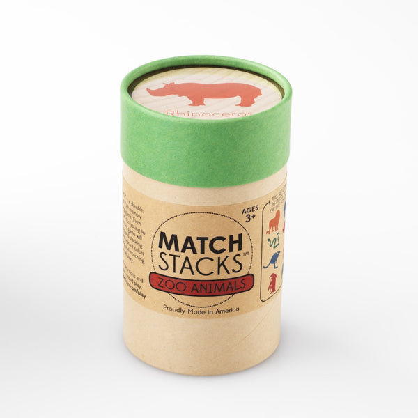 MATCH STACKS™ - Zoo Animals