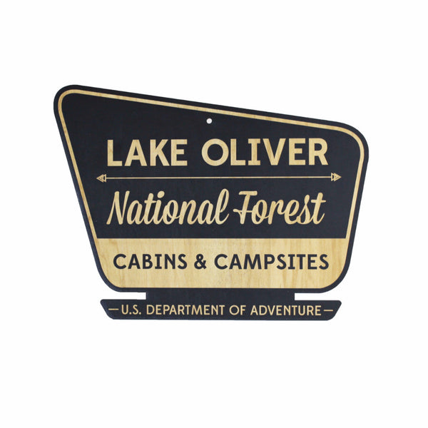 National Forest Wall Sign - Personalized