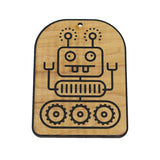 Wooden Ornament - Robot
