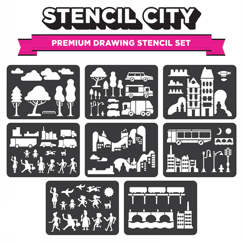 Stencil City - Drawing Stencils