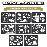 Backyard Adventure - Drawing Stencils