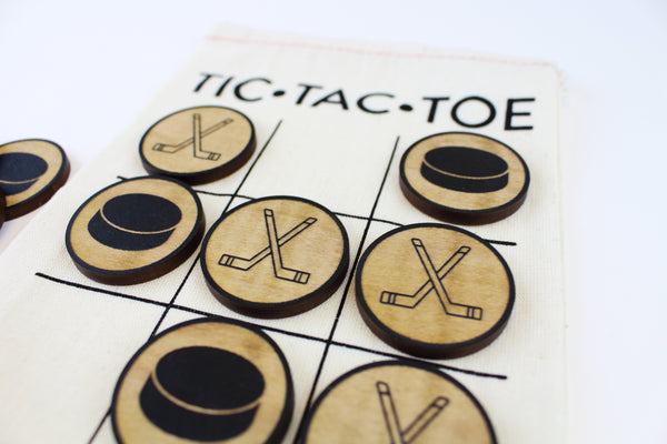 Hockey - Travel Tic-Tac-Toe
