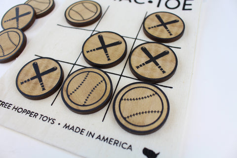Baseball - Travel Tic-Tac-Toe