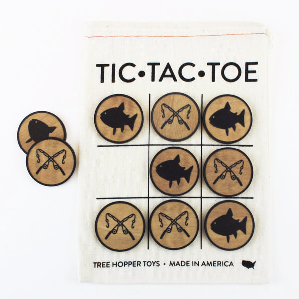 Fishing - Travel Tic-Tac-Toe