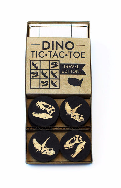 Dinosaur - Travel Tic-Tac-Toe