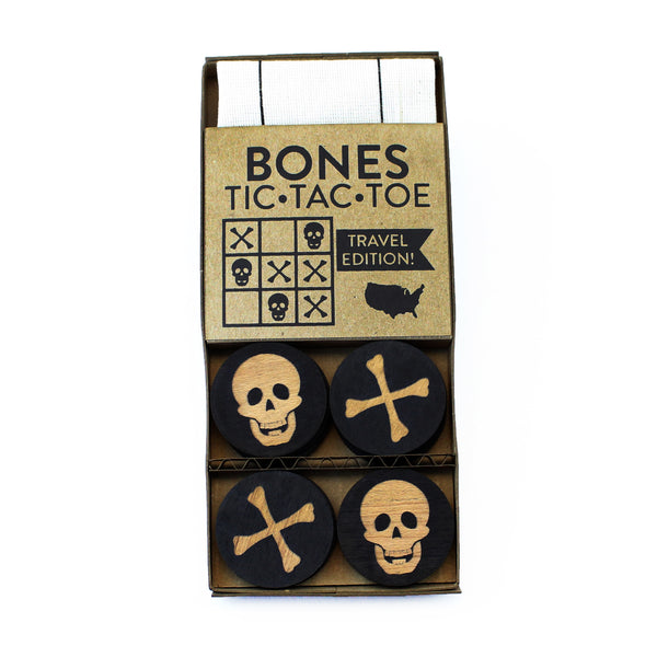 Bones - Travel Tic-Tac-Toe