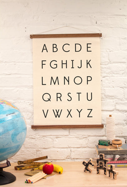 Wall Art - Alphabet