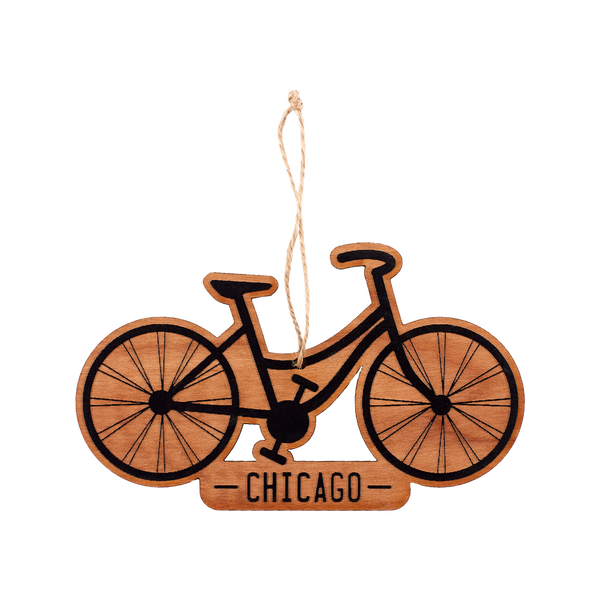 Wooden Ornament - Bike