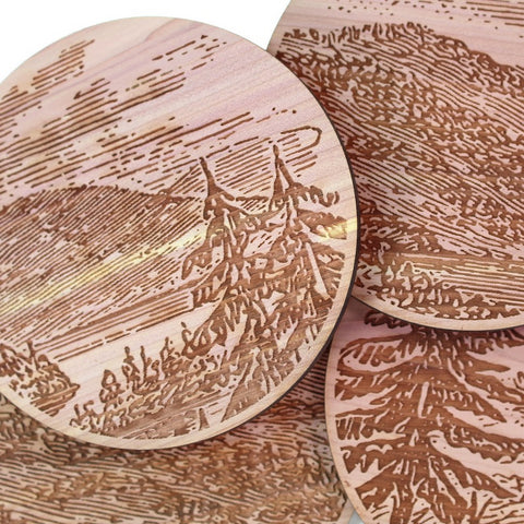 Landscape Coasters - Set of 4