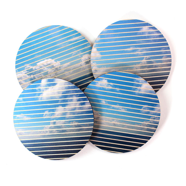 Ocean and Sky Coasters - Set of 4