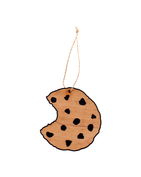 Wooden Ornament - Cookie