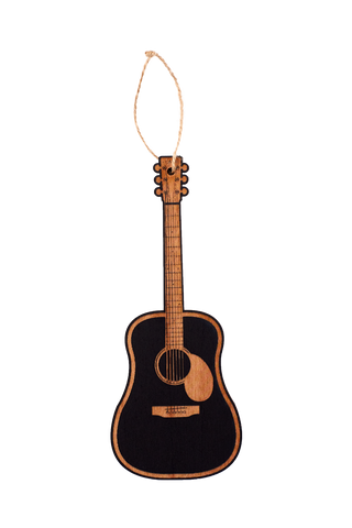 Wooden Ornament - Acoustic Guitar