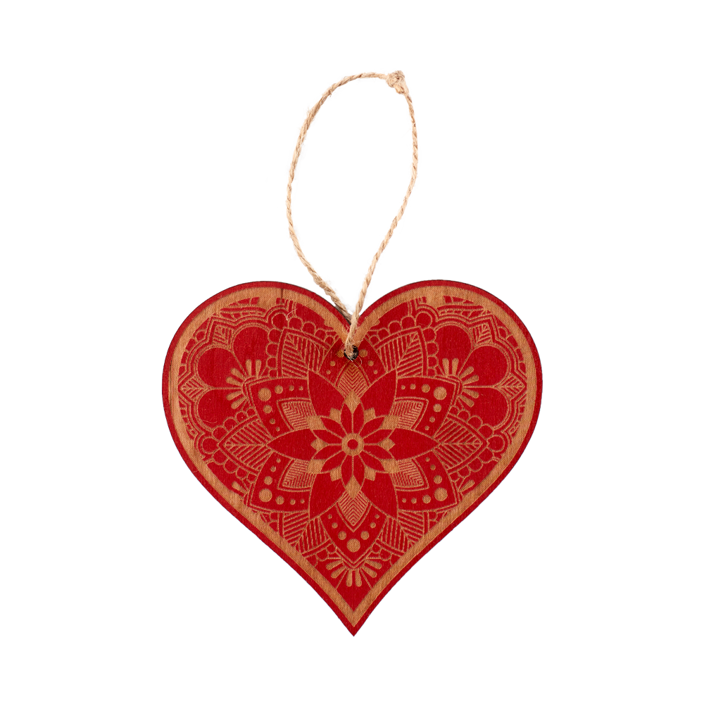 Christmas Heart Png.Wooden Ornament Heart Ornate