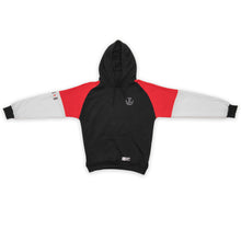 Load image into Gallery viewer, HOODIE WINTER RED/BLACK/WHITE