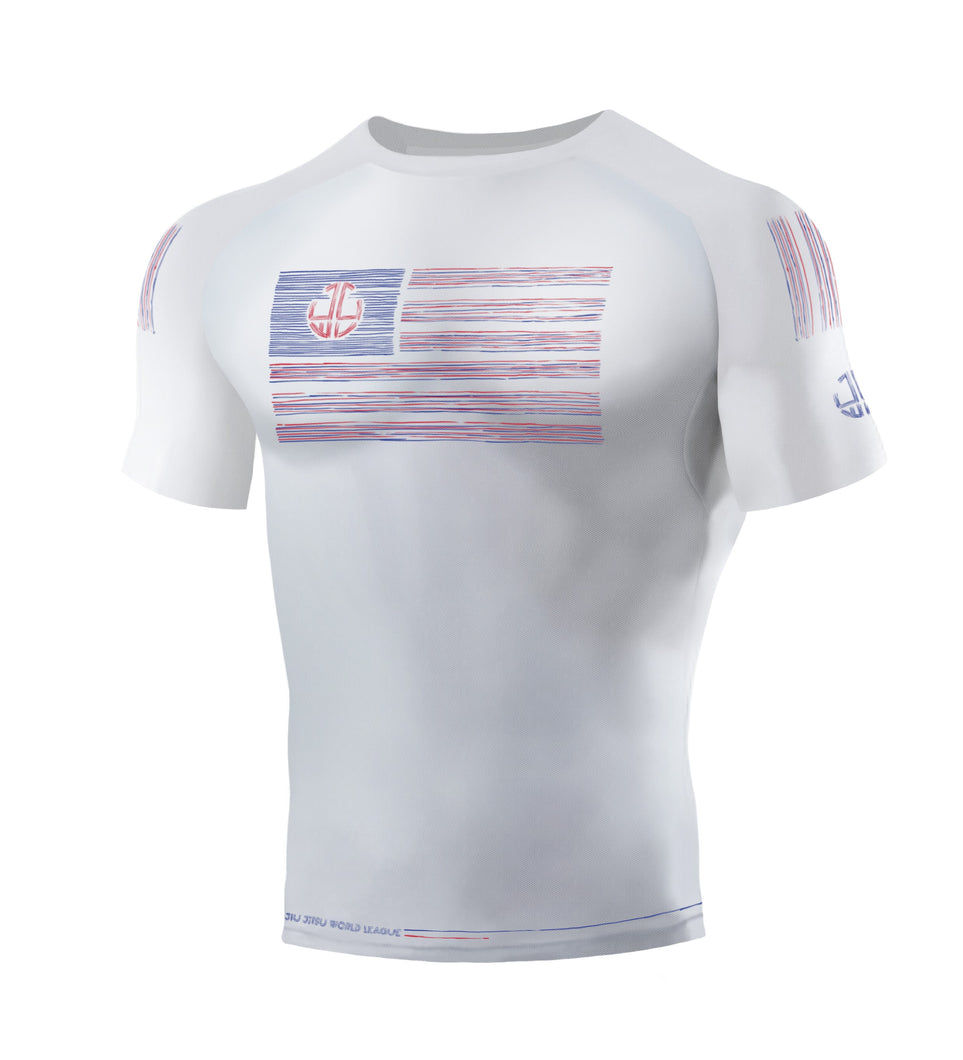 AMERICAN OPEN RASH GUARD